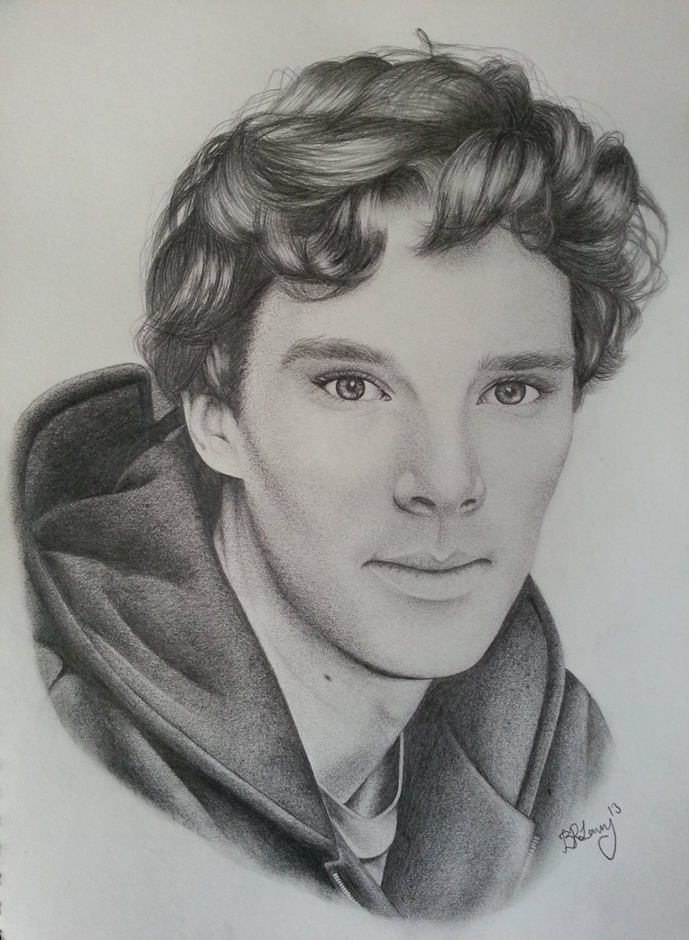 Benedict Cumberbatch by MidnightRoseGarden