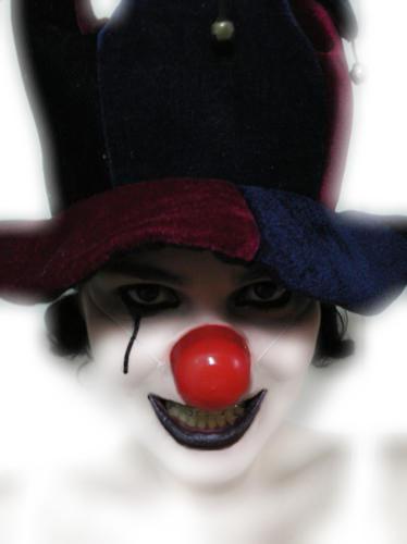 clown by freakfairy