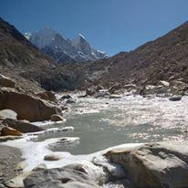 ganga glacier the source himalaya by MaRkInOiNo