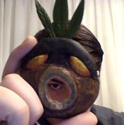 Deku Mask by SalamanderFanSalazar