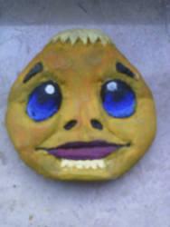 Goron Mask by SalamanderFanSalazar