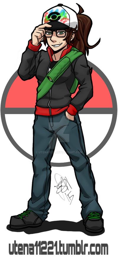 Poke-Trainer Me by utena11221