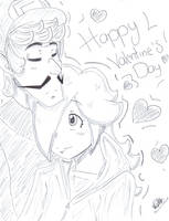 Mario: Happy Valentines Day! by kasanexkagamine