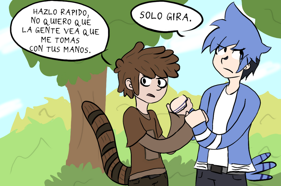 RS  Mordecai And Rigby By Kasanexkagamine