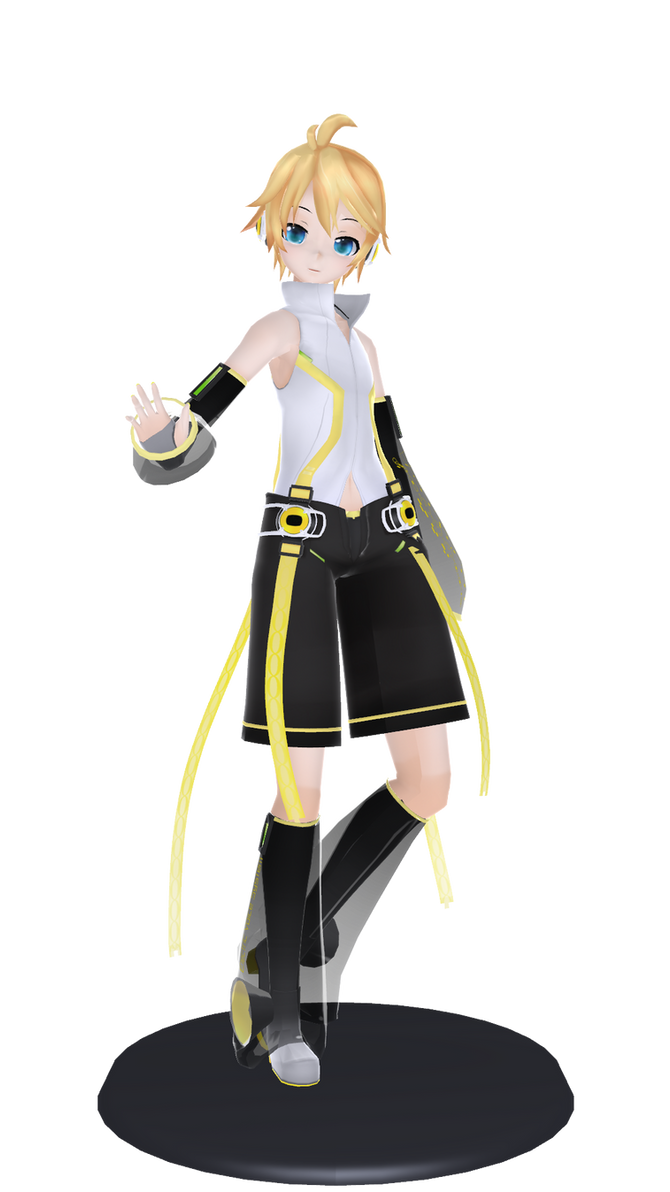 MMD: Len Append by kasanexkagamine