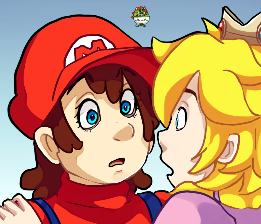 Mario Genderbent: So.. are you the prince? -REDO- by kasanexkagamine
