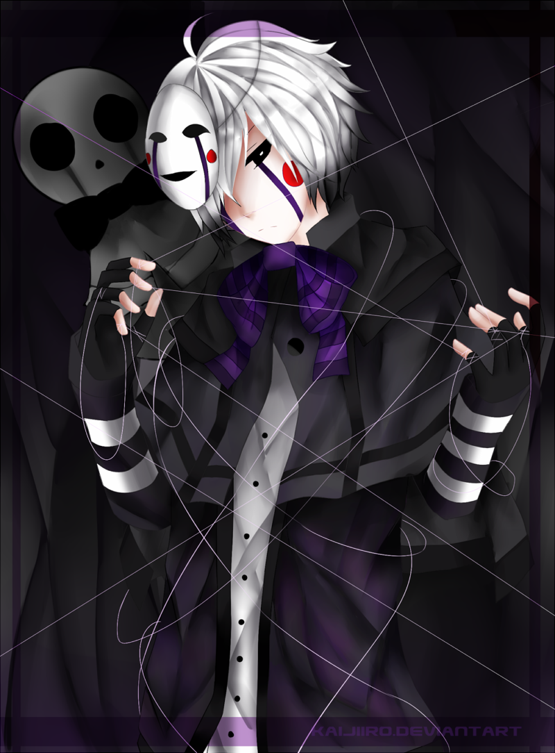 Fnaf puppet by kaijiiro on deviantart