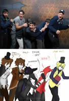 FNAF | Reactions by Kaijiiro