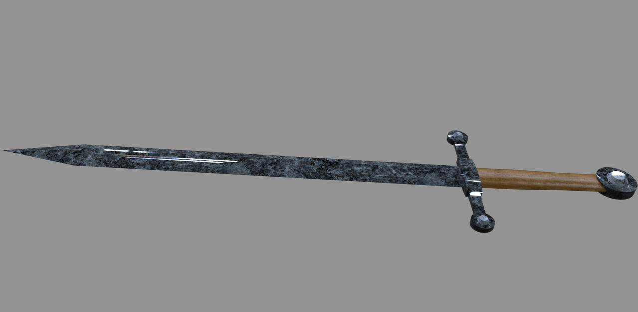 Real Sword Real Minecraft Stone Sword by