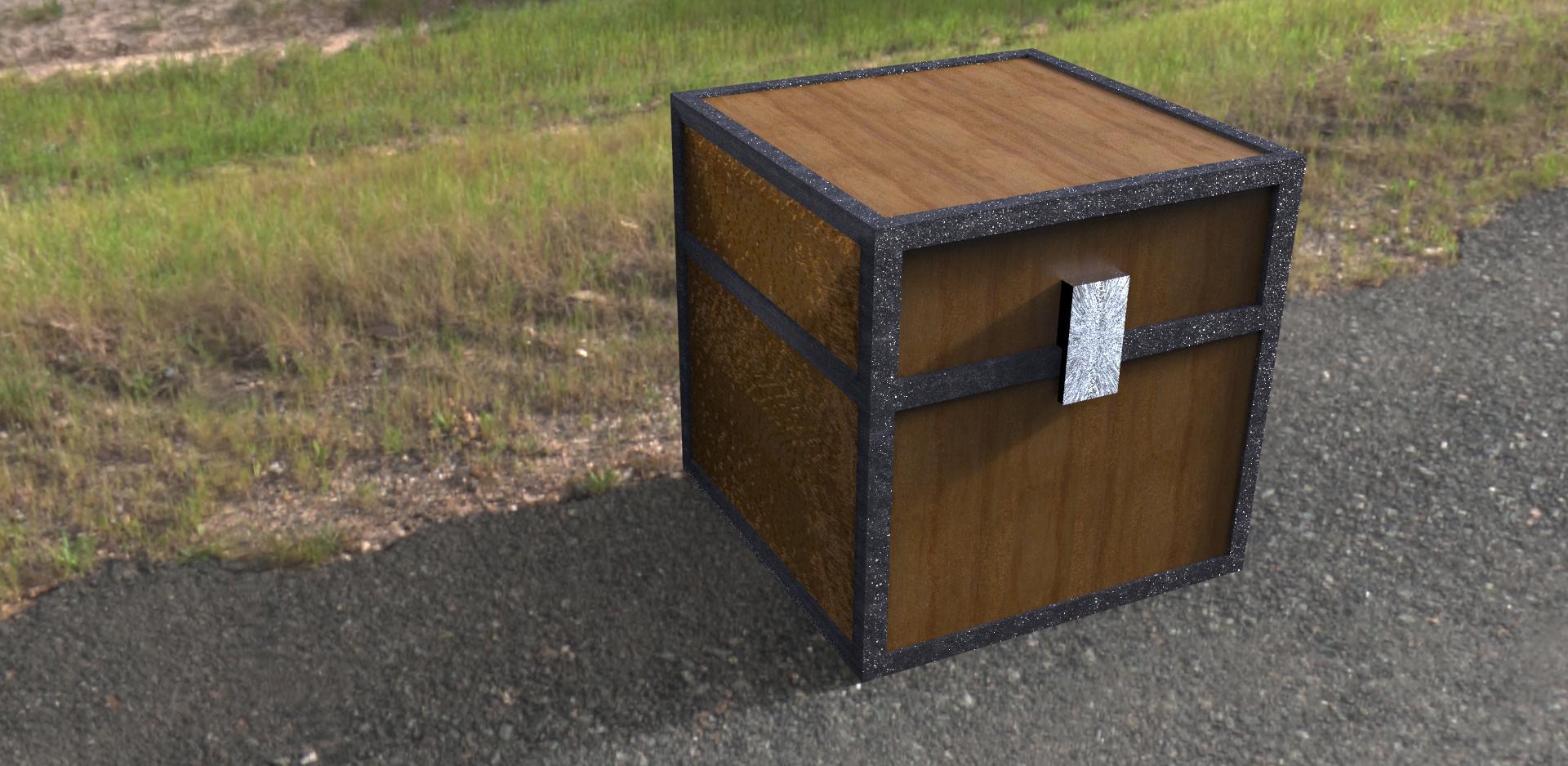 real minecraft chest by Bull3tModz on DeviantArt