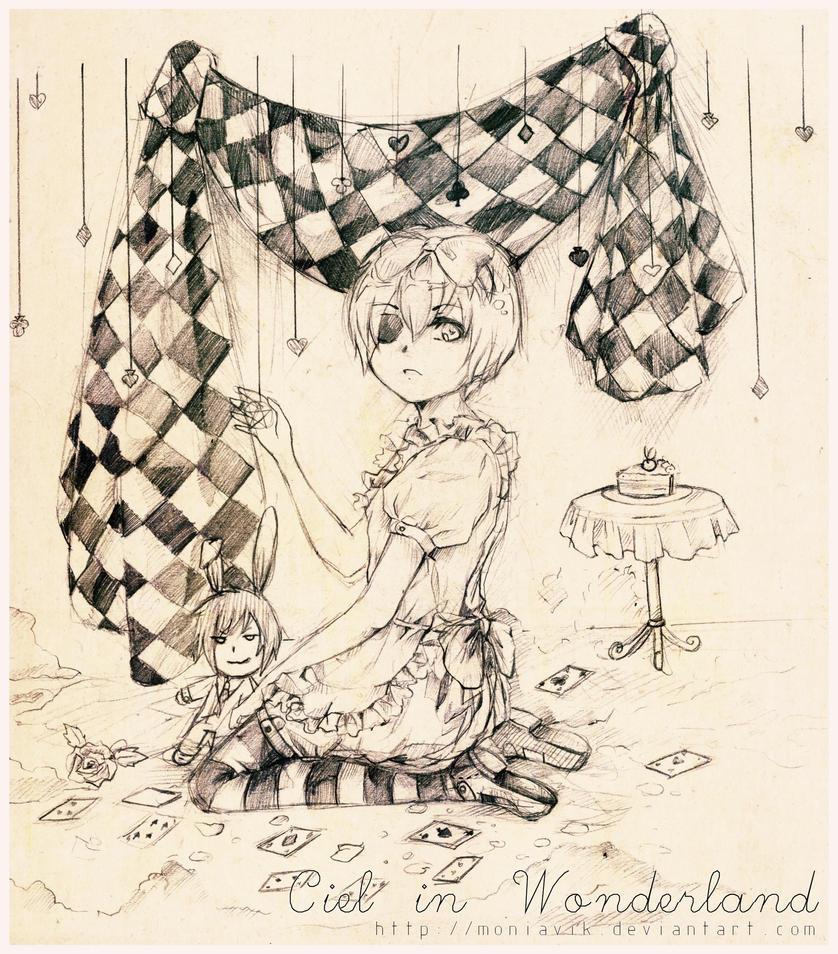 Ciel in Wonderland by Vinvii