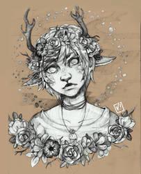 Deerboy by Vilyann