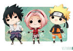 Naruto chibi set