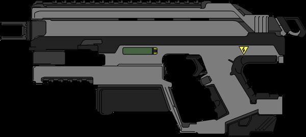 ESPW-01 Infantry Exo Heavy Rail Pistol