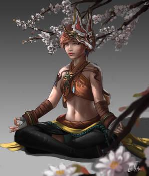 Final Fantasy Monk
