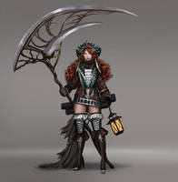 Pirate Girl Concept by Whails