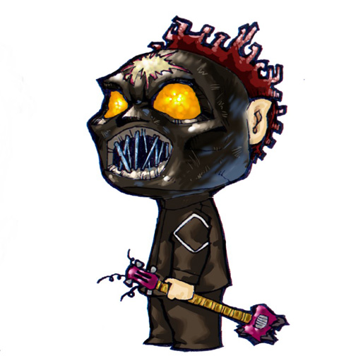 DeviantArt: More Like Slipknot cartoon WP by tsmarcus