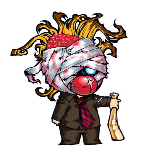 Corey Taylor Slipknot Cartoon | via Facebook by SpearOfDestiny | WHI
