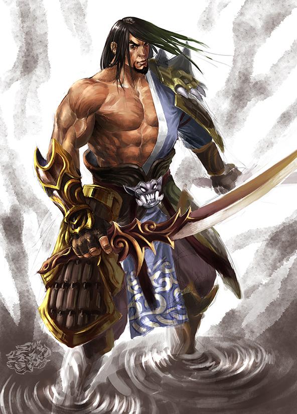 samurai by ilison