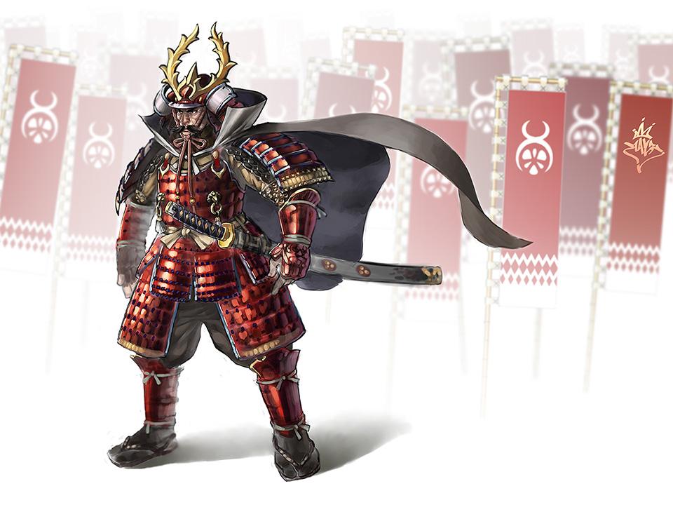 Tokugawa Ieyasu by ilison