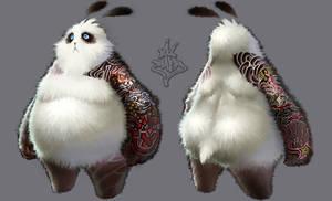 Tatoo panda