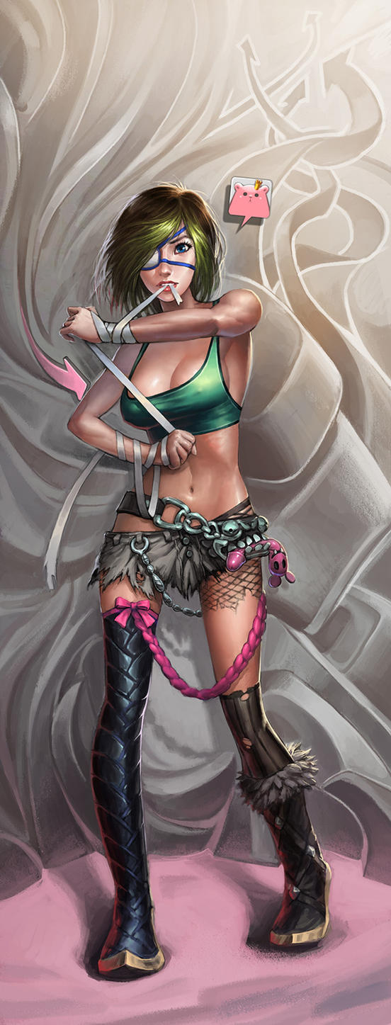 Girl Fighter by ilison