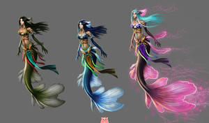 The mermaid by ilison