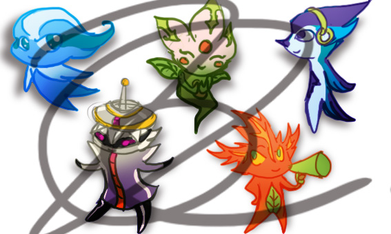 Pan Am 2015 mascots concepts by NinGeko