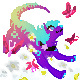 Pixel Icon commission:.Chasing Butterflies.: by Ningeko16
