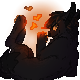 PIxel Icon Commission ::Pantera Negro:: by Ningeko16
