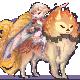 Pixel commission?/gift~ Cute warrior by Ningeko16