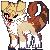 Pixel icon Commission .:Husky-rawr:. by Ningeko16