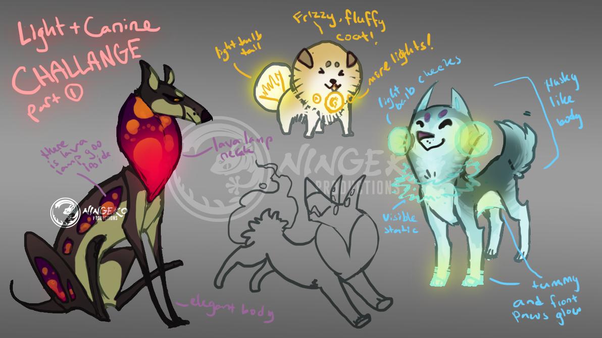 Light Canine sheet part 1 by Ningeko16