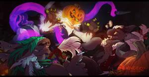 October Week 1 Prompt- Don't Scare your Elders by NinGeko