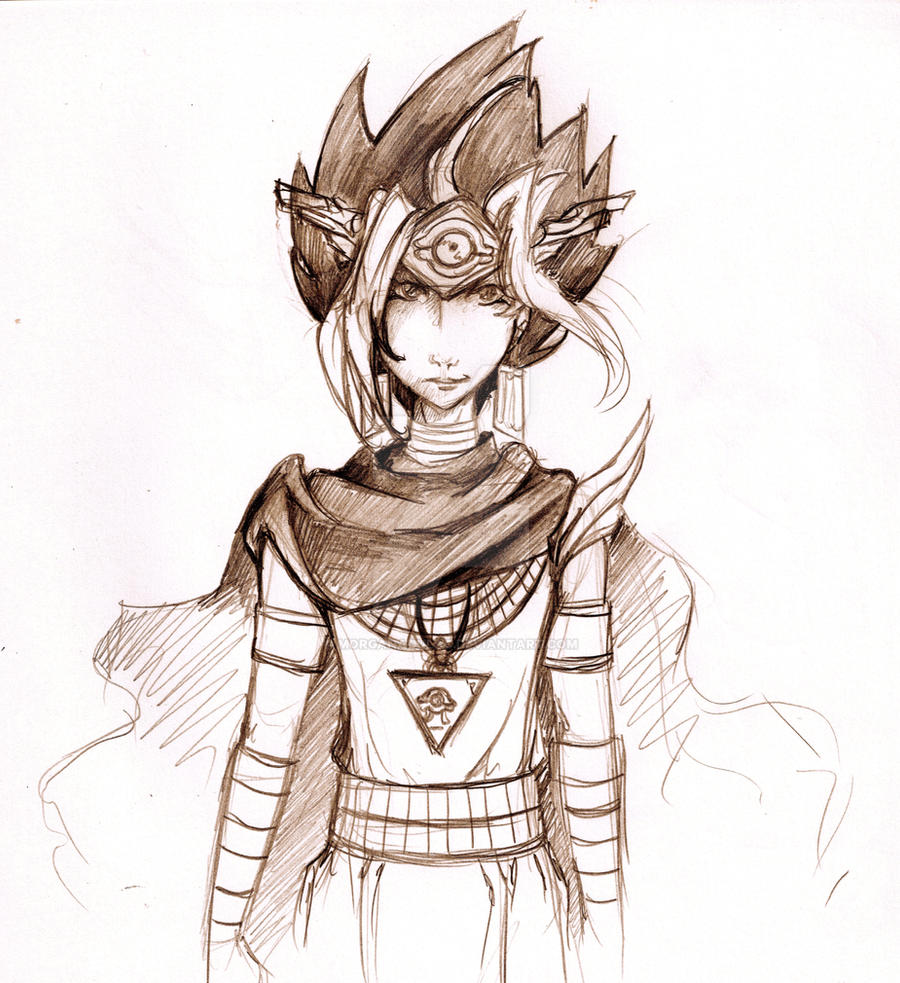 Pharaoh Atem by morganadulac