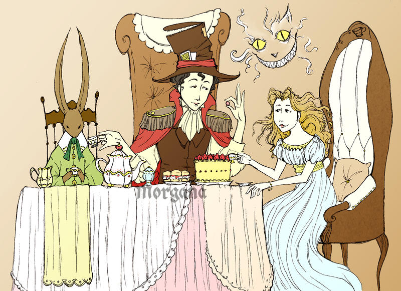 Tea Party by morganadulac