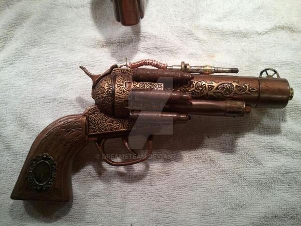Steampunk Revolvers