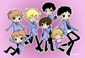 Ouran high school host club by Smotth