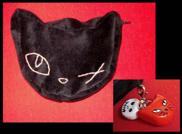 Cat purse by NoctiLuna
