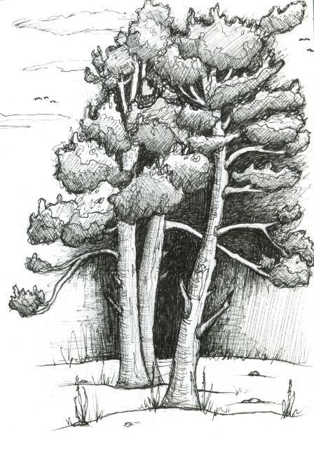 Inktober Tree by NoctiLuna