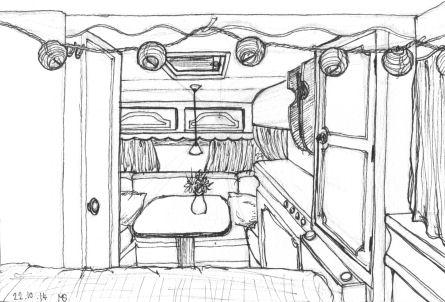 Inktober Caravan by NoctiLuna