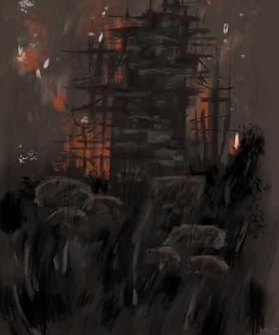 Construction ~ Tower by NoctiLuna