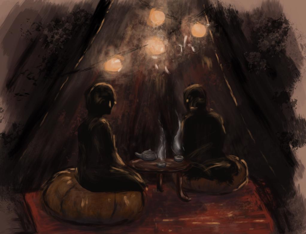 Tea ~ Tent by NoctiLuna