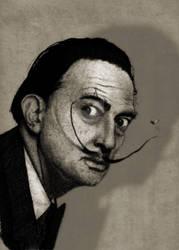 Salvador's Dali Portrait. by barruf