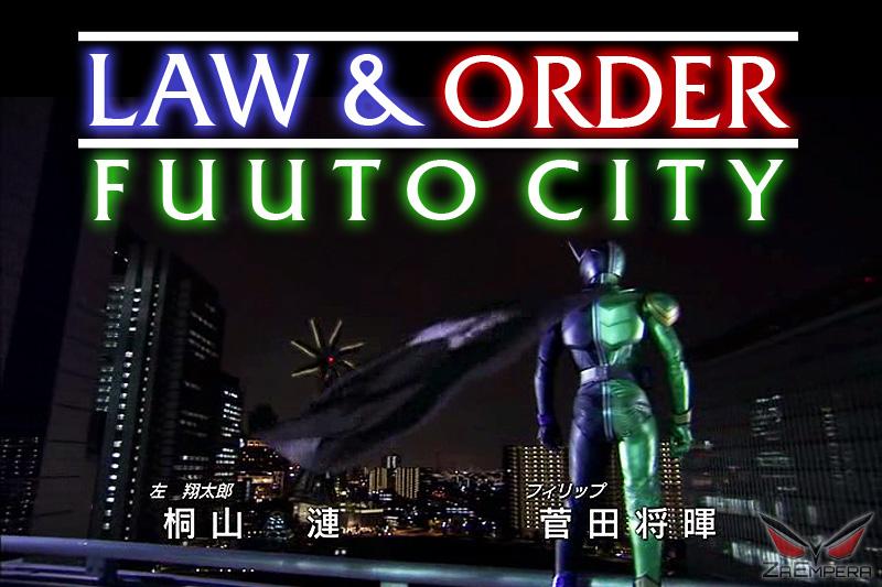 Law and Order: Fuuto City (Kamen Rider W) by ZaEmpera