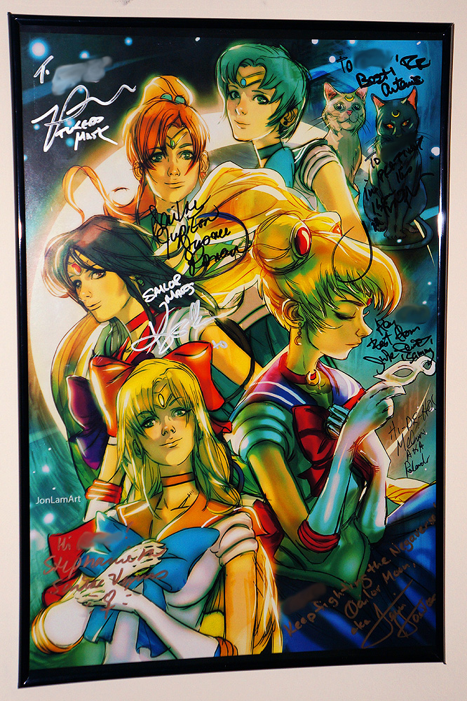 Sailor Moon Autographs by ZaEmpera