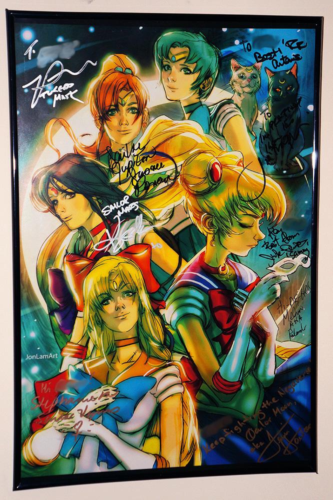 Sailor Moon Autographs by ZaEmpera