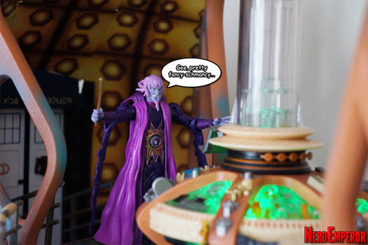 Ivan Ooze Enters the TARDIS