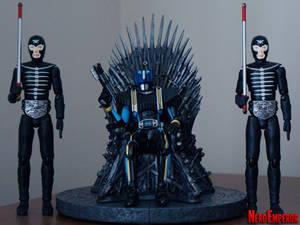 Kamen Rider Diend on the Iron Throne