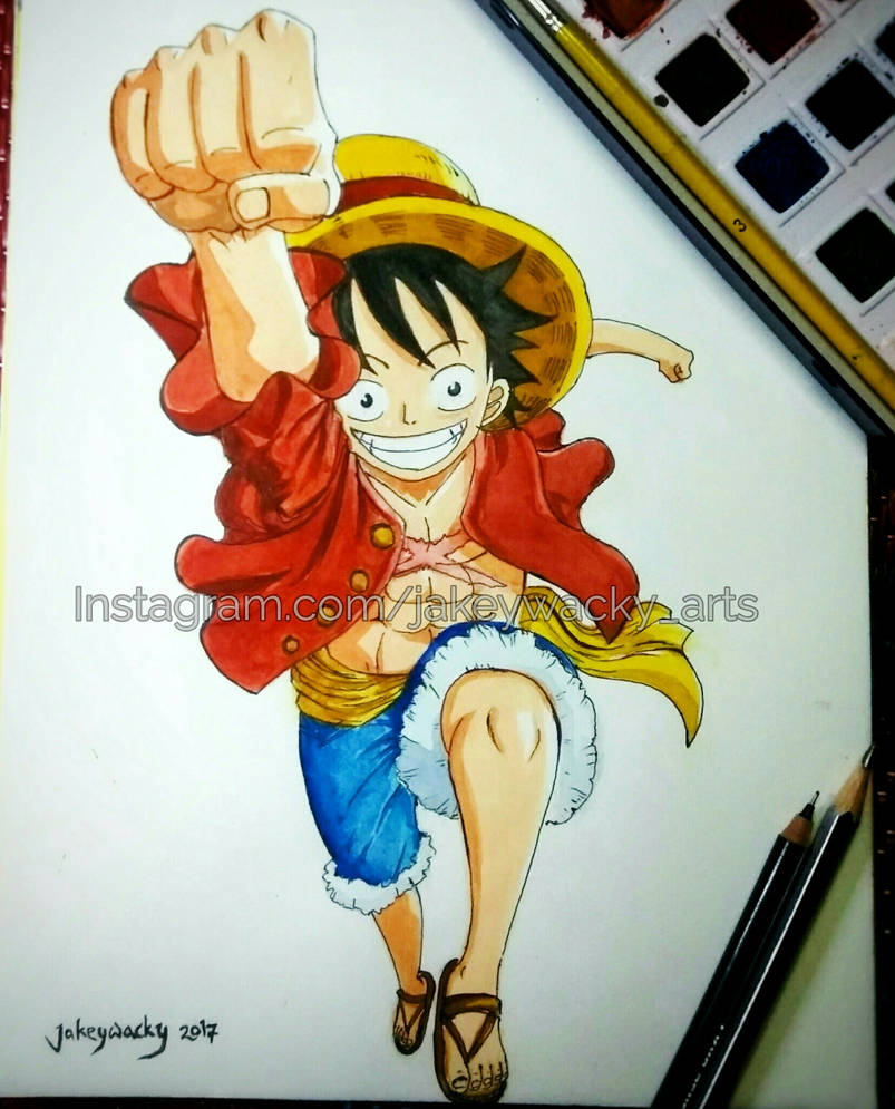 Monkey D Luffy By Jakeywacky On Deviantart